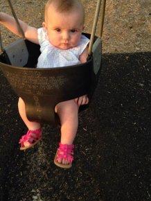 Meet Alice, my granddaughter! I'm so proud of her!
